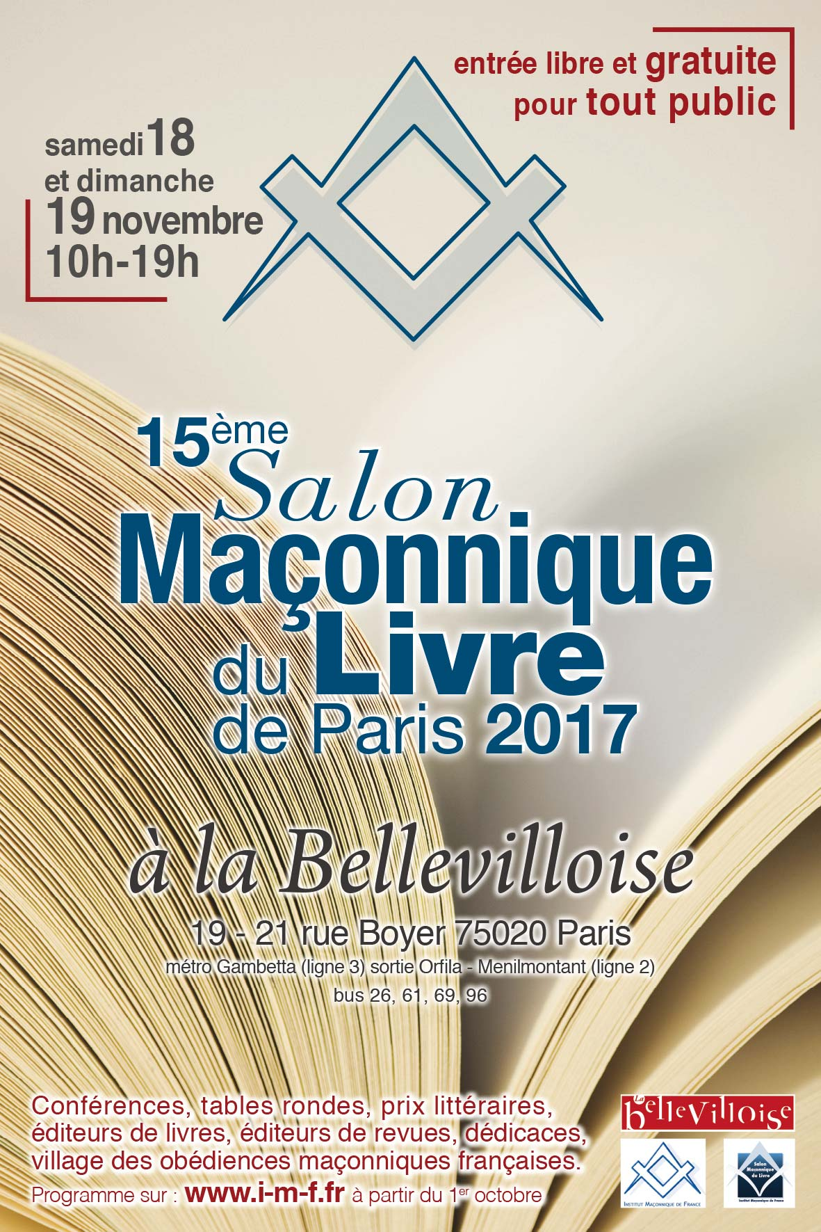 Salon ma onnique du livre de paris 2017 le programme for Salon e commerce paris 2017