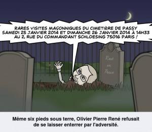 Olivier Estiez cimetière de Passy