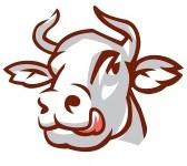 16424756-chef-de-licking-vache-dessin-stylise