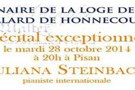 Concert pour la Loge Nationale de Recherche Villard de Honnecourt