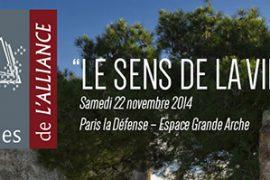 GL-AMF : « Dialogues de l'Alliance »  avec Le sens de la vie