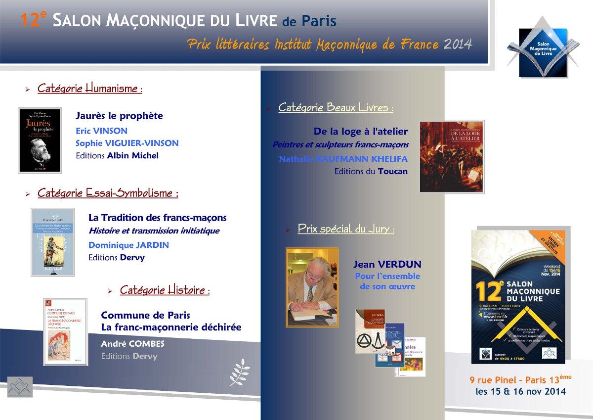 SML Paris 2014 - Prix litteraires