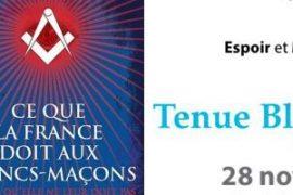"""TBF : """"Ce que la France doit aux francs-maçons"""" par Laurent Kupferman"""