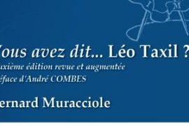 Vous avez dit… Léo Taxil ? de Bernard Muracciole