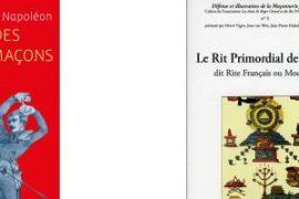 Jean Van Win et Hervé Vigier en dédicaces à la Grande Loge de Paris