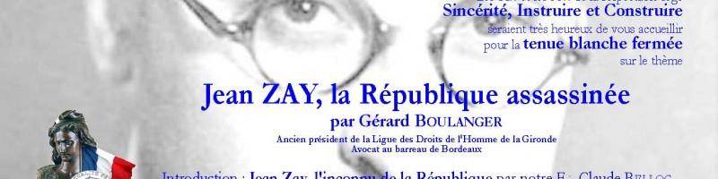 Jean Zay -Invitation