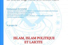 Les Vendredis de la GLMU : Islam, Islam politique et Laïcité