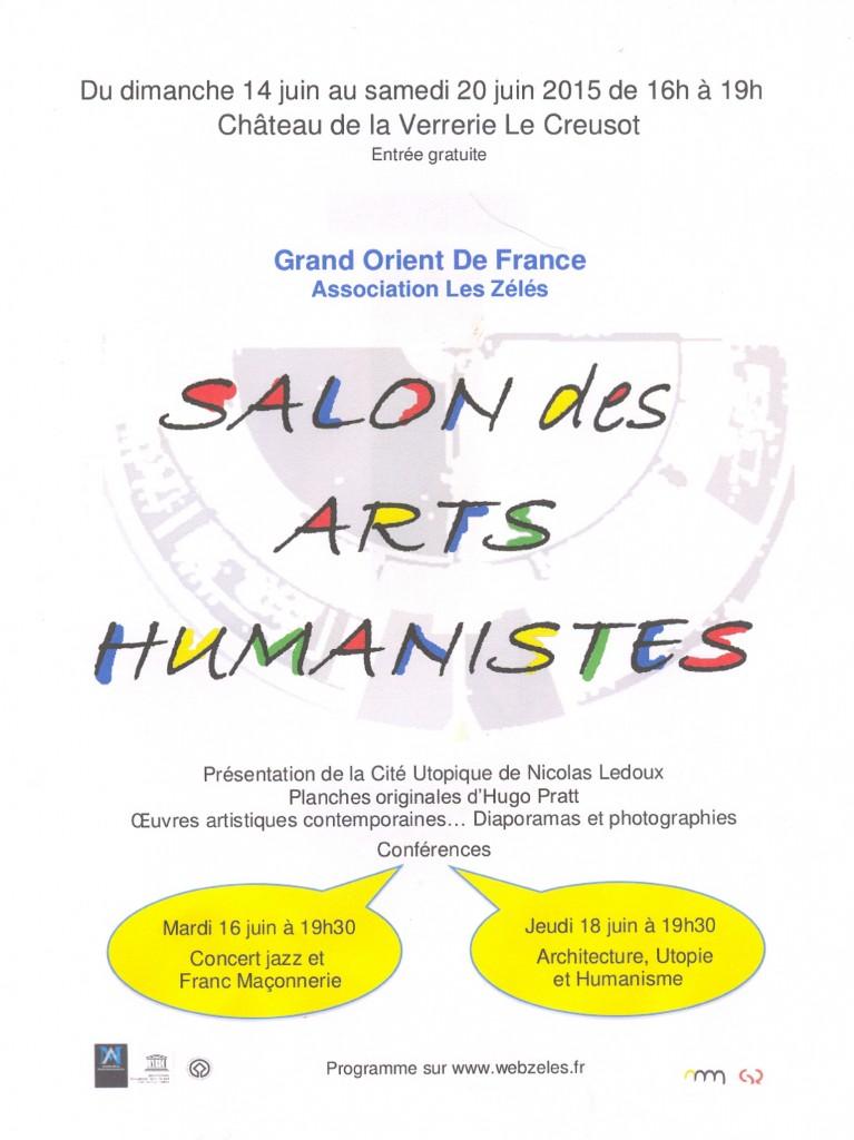 nouvelle affiche arts humanistes