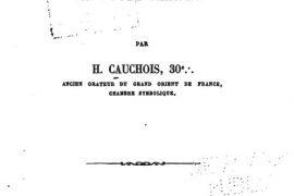 """Livre maçonnique gratuit du mercredi : """"Cours oral de franc-maçonnerie symbolique"""""""