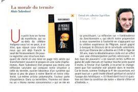 La morale du termite  vu par le magazine Nexus