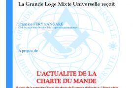 La Charte du Mande par la GLMU