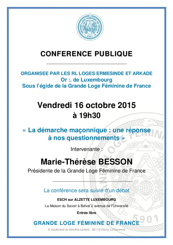 LUXEMBCONF161015