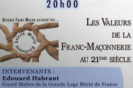 TBO – GLMF à Marseille : Les valeurs de la Franc-Maçonnerie au XXI Siècle