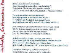Attentats de Paris : Amis, Soeurs, Frères, où étiez-vous ?