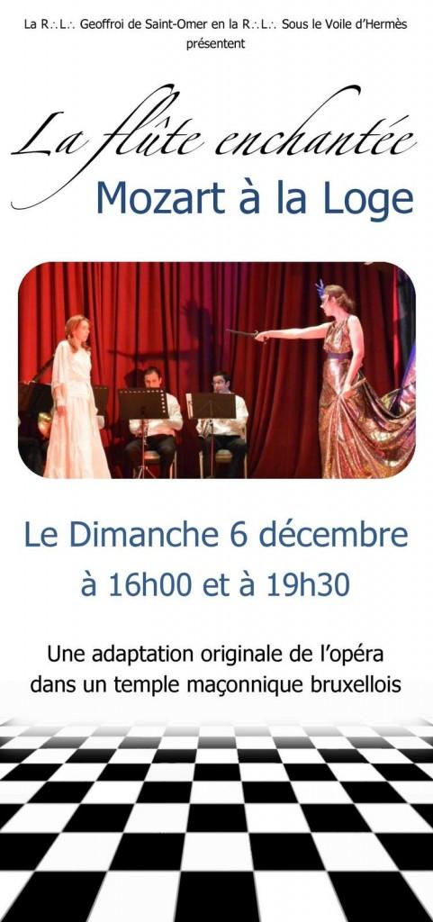 La flute enchantée - Mozart à la Loge - Recto - PUBLIC