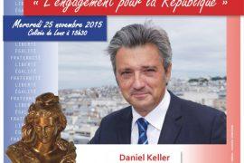 Conférence GODF – L engagement pour la République avec Daniel Keller