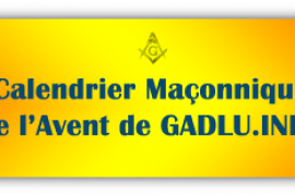 Calendrier Maçonnique 2015 de l Avent de Gadlu.Info