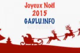 GADLU.INFO vous souhaite un Joyeux Noël 2015