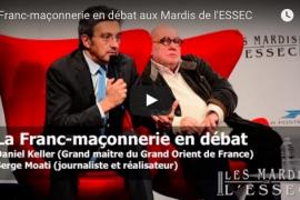 Video : débat sur la franc-maçonnerie avec Daniel Keller et Serge Moati