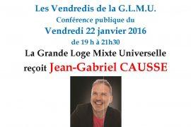 Vendredis de la GLMU : L Etonnant pouvoir des couleurs de Jean Gabriel Causse