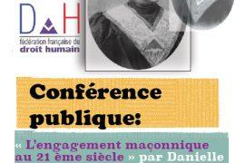 DH : Conférence publique à Brest : L engagement maçonnique au XXIème siècle