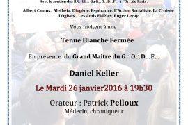 TBF à Paris : Toujours là, toujours prêt ! Pour la laïcité ? avec Patrick Pelloux