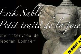 Salamandre TV avec Erik Sablé et le Petit traité de la joie