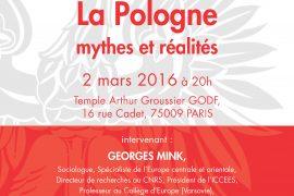 Conférence GODF : La Pologne – mythes et réalités