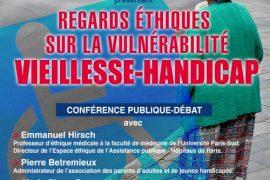 Droit Humain : Regards éthiques sur la vulnérabilité Vieillesse-Handicap