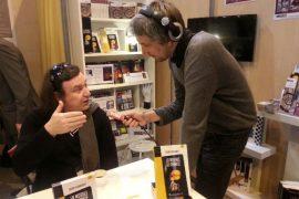 Flash : Alain Subrebost et le Termite au Salon du Livre de Paris