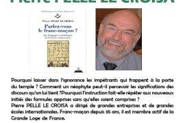 Pierre Pelle Le Croisa en conférence-dédicace à Lyon