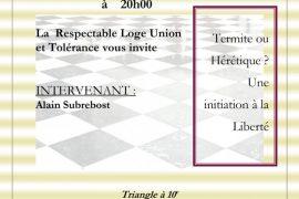TBO : Termite ou Hérétique ? Une initiation à la liberté avec Alain Subrebost