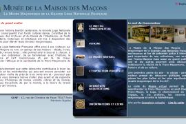 Musée de la Maison des Maçons – musée maçonnique de la GLNF