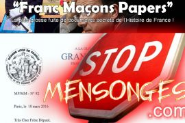 GLDF Piratée : Franc-maçon papers ou wikileaks Maçonnique !
