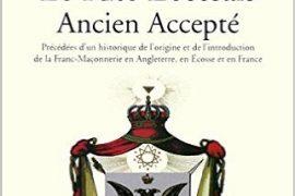 RECHERCHES SUR LE RITE ÉCOSSAIS ANCIEN ACCEPTÉ – JEAN EMILE DARUTY