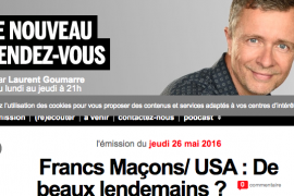 Francs Maçons/ USA : De beaux lendemains ? – France Inter
