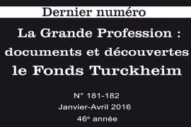 Renaissance Traditionnelle N° 181/182 : La Grand Profession