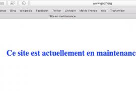 Tentative de piratage sur le site web du GODF
