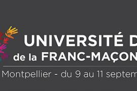 Université d'été de la Franc-Maçonnerie 2016 à Montpellier