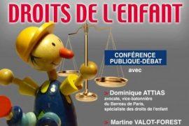 """Conférence du Droit Humain sur """"Les Droits de l'Enfant"""""""