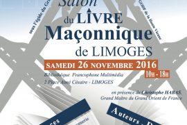 3ème  SALON DU LIVRE MACONNIQUE DE LIMOGES