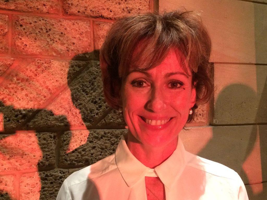 Christine Sauvagnac, nouveau Grand Maître de la GLCS, lors du Dîner d'après Convent, le 8 octobre 2016 (photo François Koch)