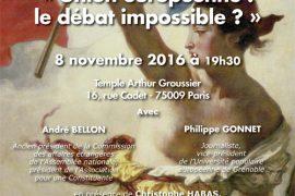 GODF : Union européenne : le débat impossible ?