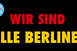 ATTENTAT DE BERLIN : COMMUNIQUÉ DU DROIT HUMAIN