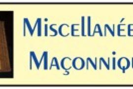 MISCELLANÉES MAÇONNIQUES : LA MAISON DE L'OEUVRE NOTRE DAME