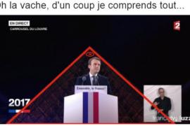 MACRON DEVANT LE LOUVRE : COMPLOTISTES EN TRANSE !