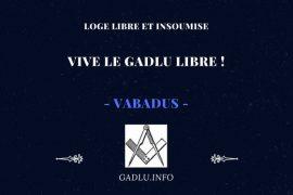 VIVE LE GADLU LIBRE ! – CONTRIBUTION DE VABADUS