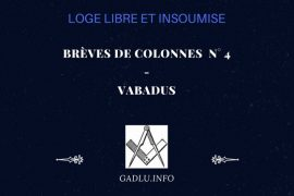 BRÈVES DE COLONNES N° 4 – CONTRIBUTION DE VABADUS