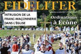 ! ANTI-MACONNIQUE ! Revue Fideliter- Intrusion de la franc-maçonnerie dans l'Eglise