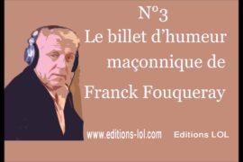 BOUGIES ÉLECTRIQUES EN LOGE – BILLETS D'HUMEUR MAÇONNIQUE DE FRANCK FOUQUERAY